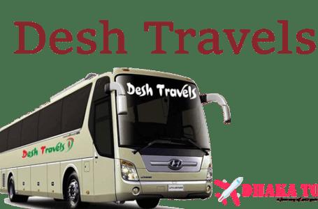 Desh Travels Bus Service: Dhaka to Rajshahi, Chittagong, Cox's Bazar, Kolkata India Bus Service