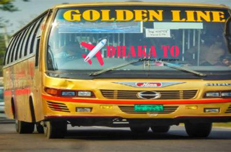 Golden Line Paribahan Online Ticket and Counter Contact Number of Golden Line Paribahan