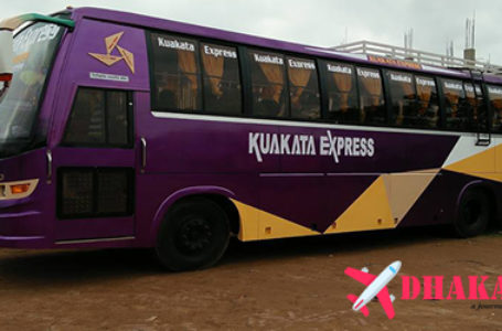 Kuakata Express Bus Ticket Price, Online Bus Ticket and Counter Contact Number of Kuakata Express