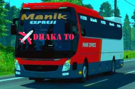 Manik Express Online Ticket and Counter Number