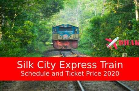Silk City Express Dhaka to Rajshahi Train Schedule & Ticket Price 2020