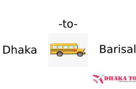 Dhaka to Barisal All Counter Number and Online Ticket Price