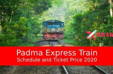 Padma Express Train Dhaka to Rajshahi Schedule & Ticket Price 2020