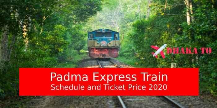 Padma Express Train Dhaka to Rajshahi Schedule & Ticket Price 2020