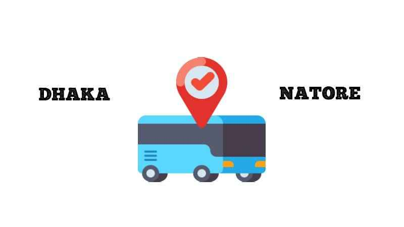 Dhaka to Natore Bus Online Ticket Price and Counter Number