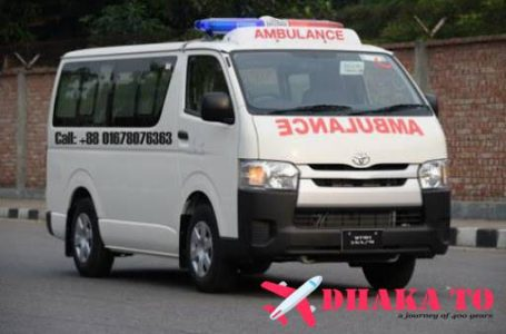 Emergency or ICU Oxygen ambulance service in Dhaka City